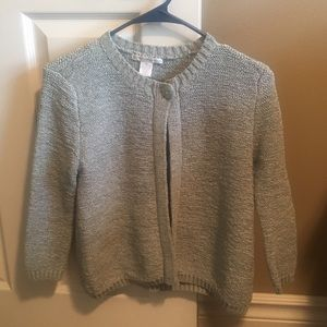 One button Sarah Spencer cardigan